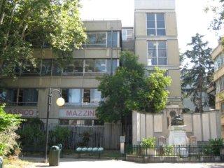 L'Istituto visto dai Giardini Pavanello di Genova Sampierdarena