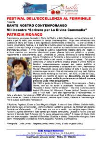 Dante-N.C.-VII-incontro-PATRIZIA-MONACO